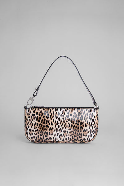 Rachel Leopard Print Patent Leather