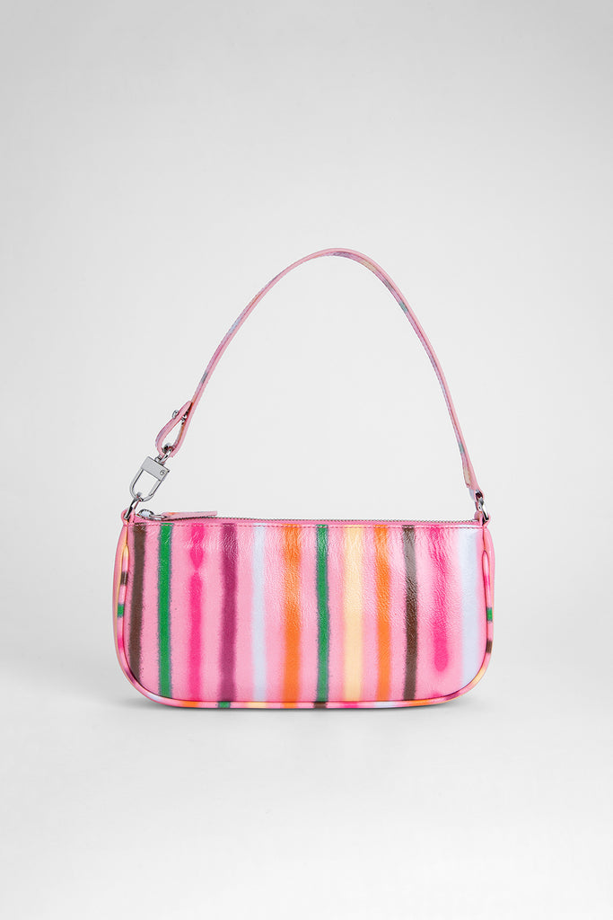 Rachel Pink Spray Print Leather