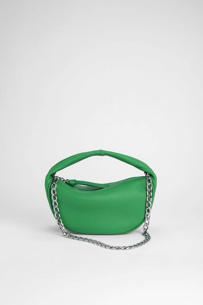 Baby Cush Emerald Flat Grain Leather