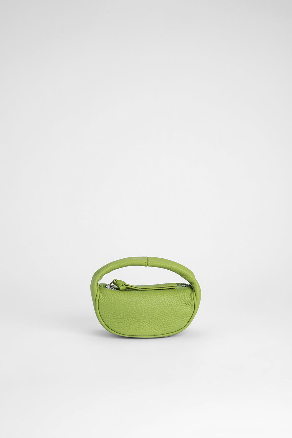 Micro Cush Lime Green Flat Grain Leather