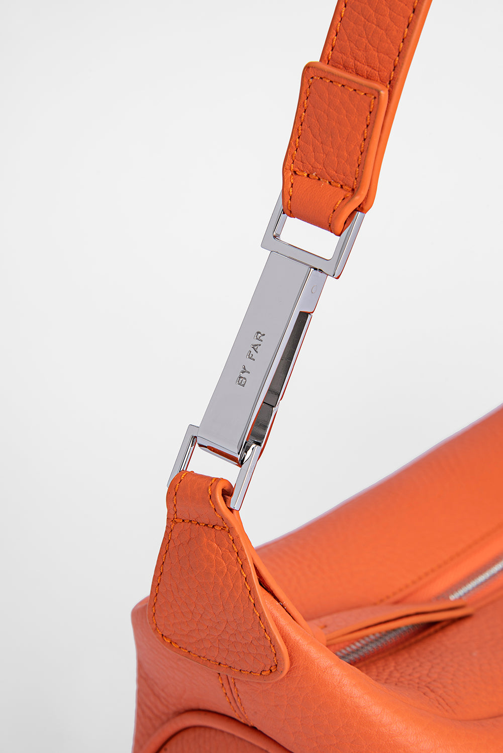 Ami Papaya Flat Grain Leather