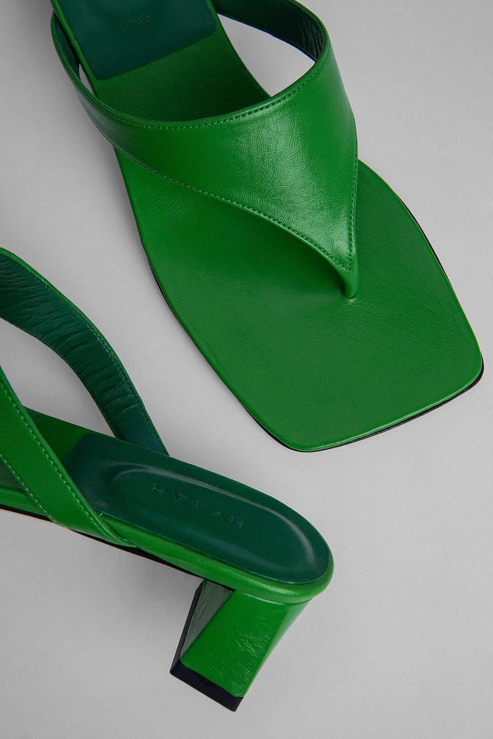 Shawn Emerald Gloss Leather