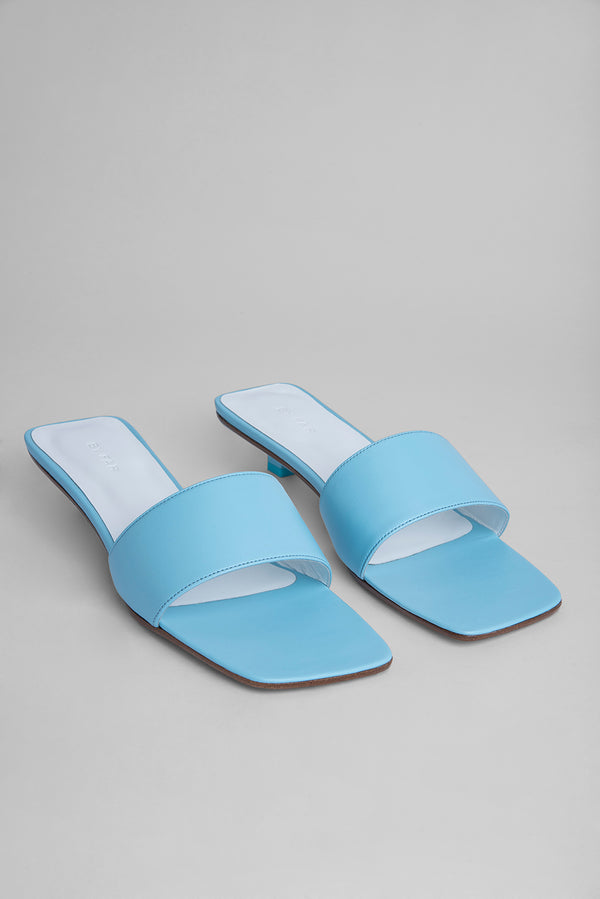 Ceni Baby Blue Leather