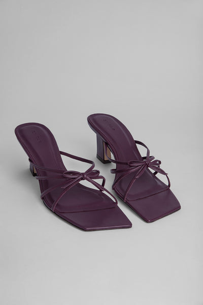Marissa Prune Bordeaux Leather