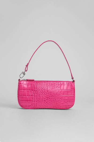 Rachel Venus Croco Embossed Leather