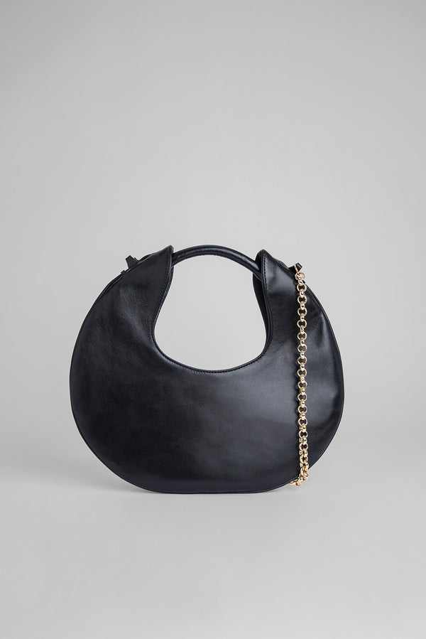 Lune Black Leather
