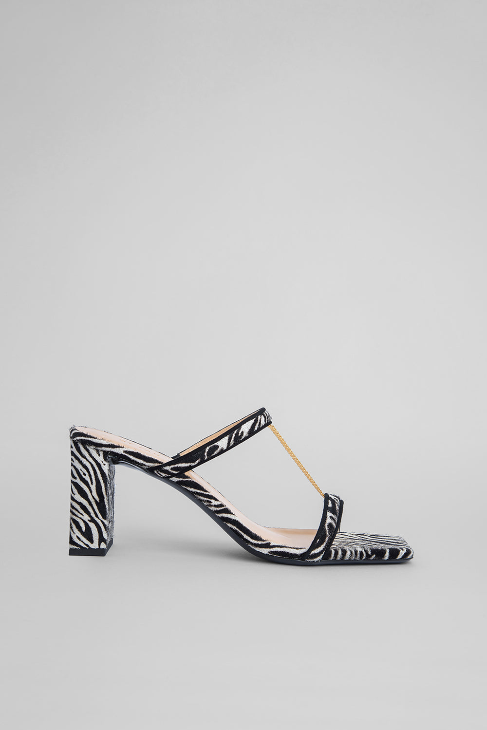 Chloe Zebra-Print Pony Hair Leather