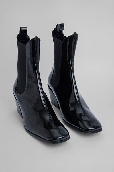 Max Black Patent Leather