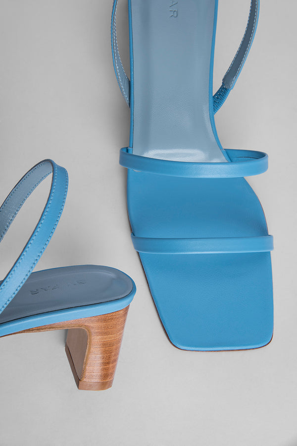 Renata Baby Blue Leather