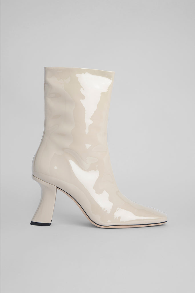 Demi Cream Patent Leather