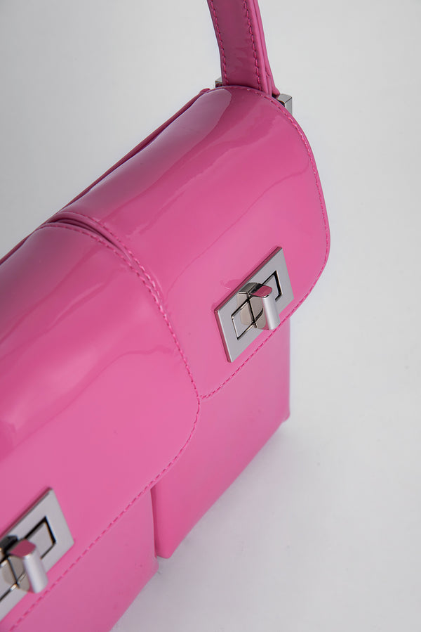 Billy Pink Patent Leather