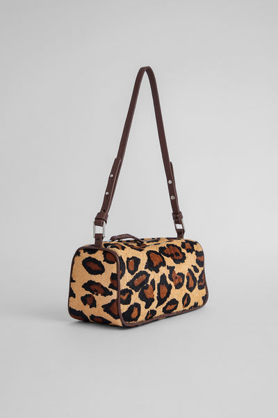 Eve Leopard Print Pony Hair Leather
