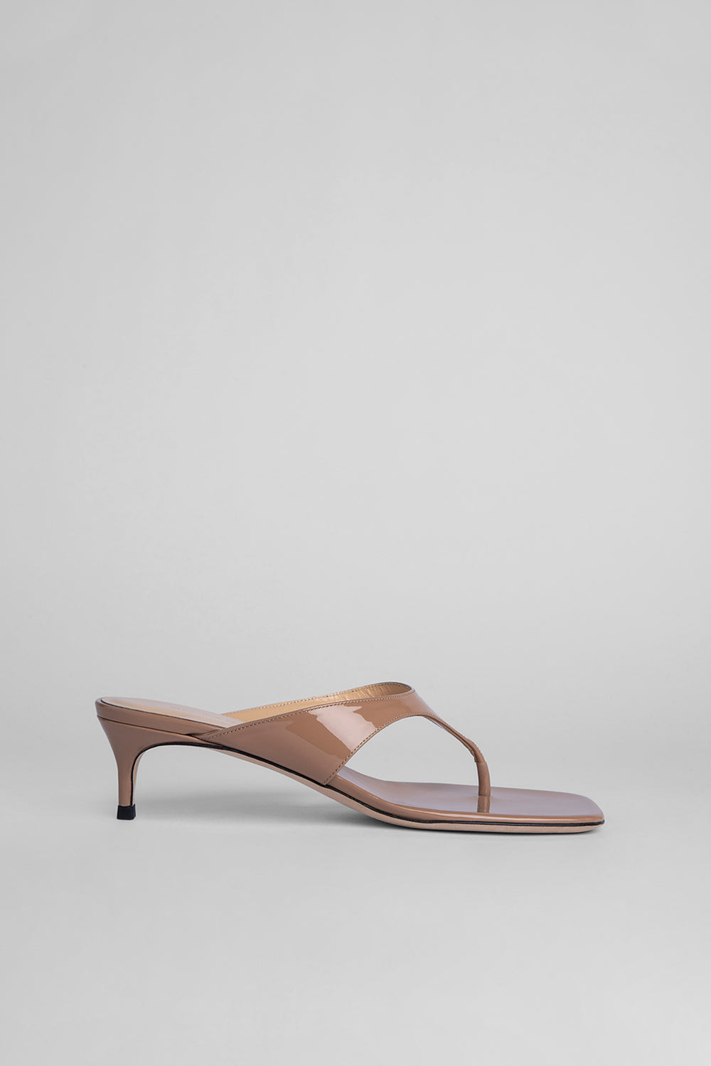Jackie Nude Patent Leather