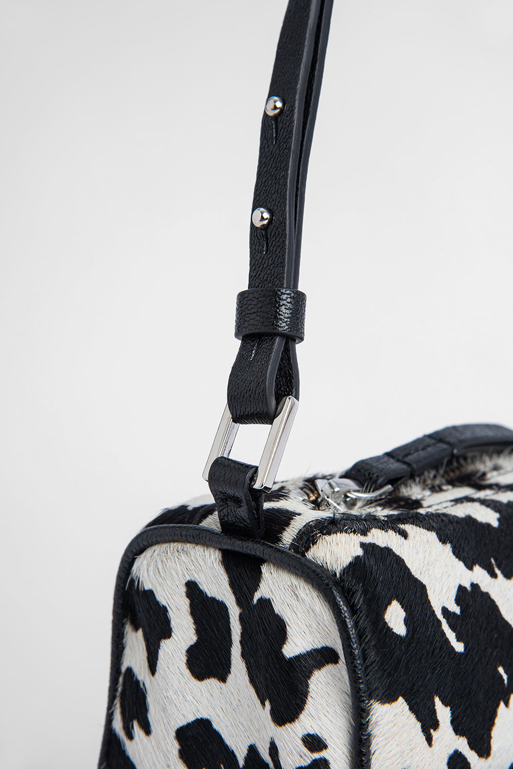 Eve Cow-Print Pony Hair Leather
