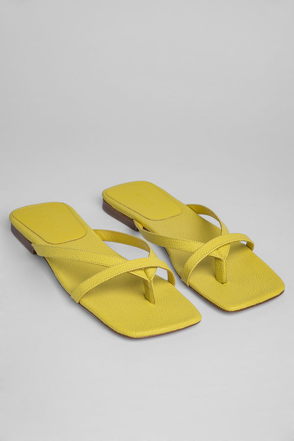 Deni Yellow Leather