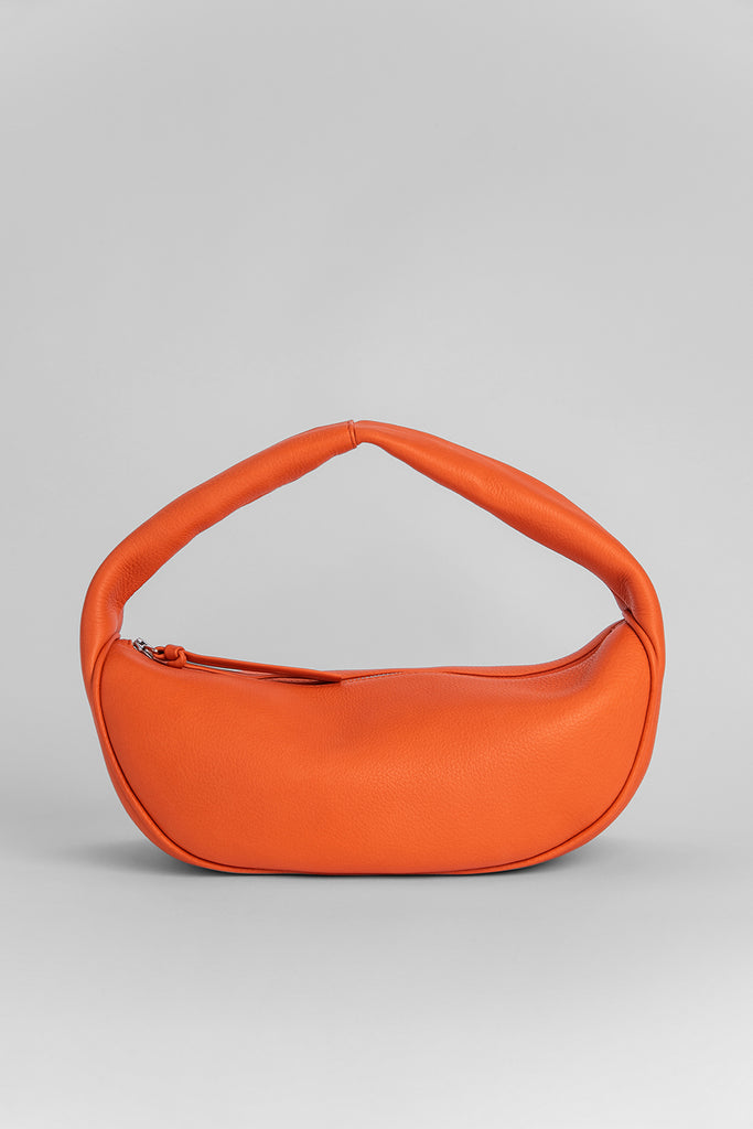 Cush Papaya Flat Grain Leather