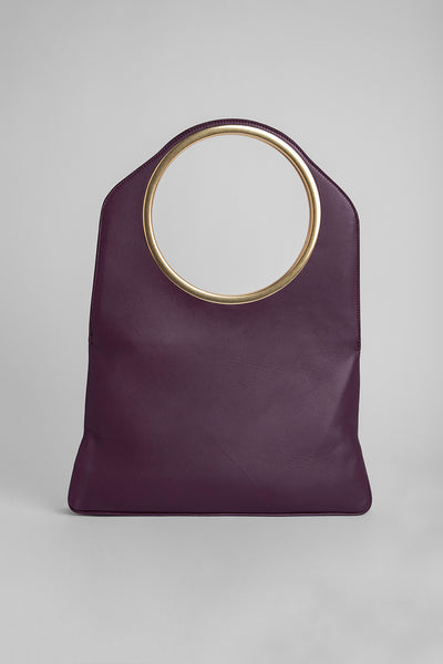 Samantha Prune Bordeaux Leather