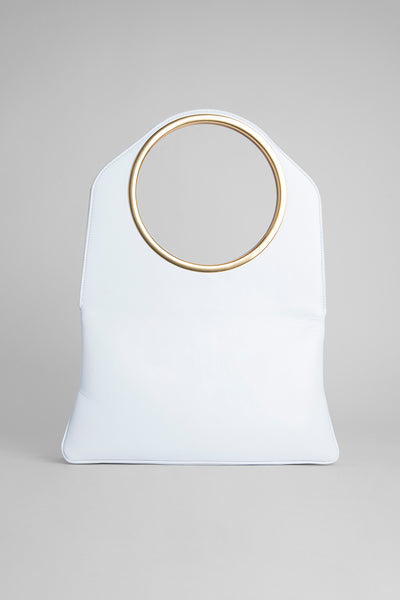 Samantha White Nappa Leather