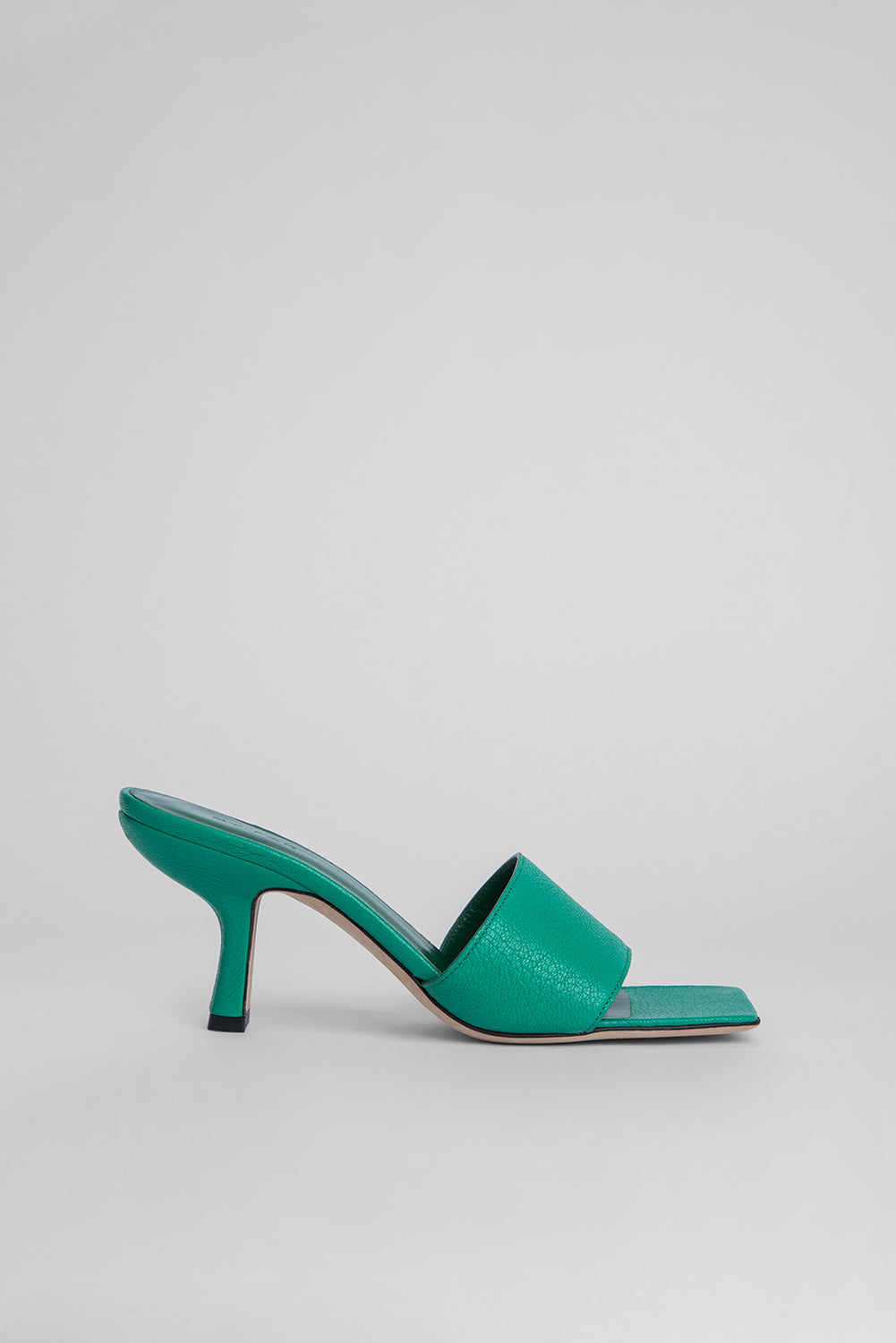 Dylan Emerald Grained Leather