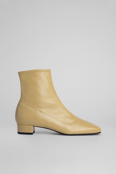 Este Boot Yellow Creased Leather