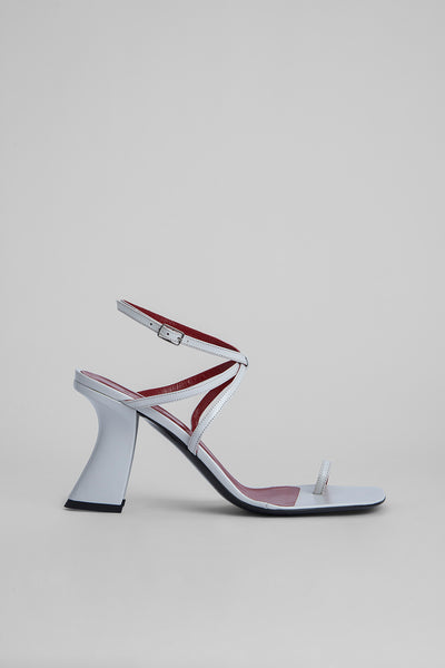 Elsa White Nappa Leather
