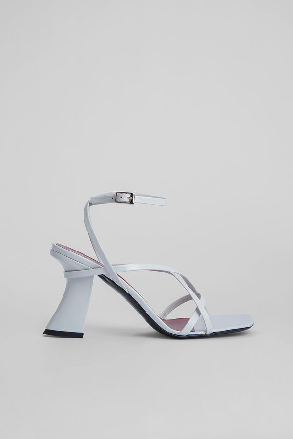 Kersti White Nappa Leather