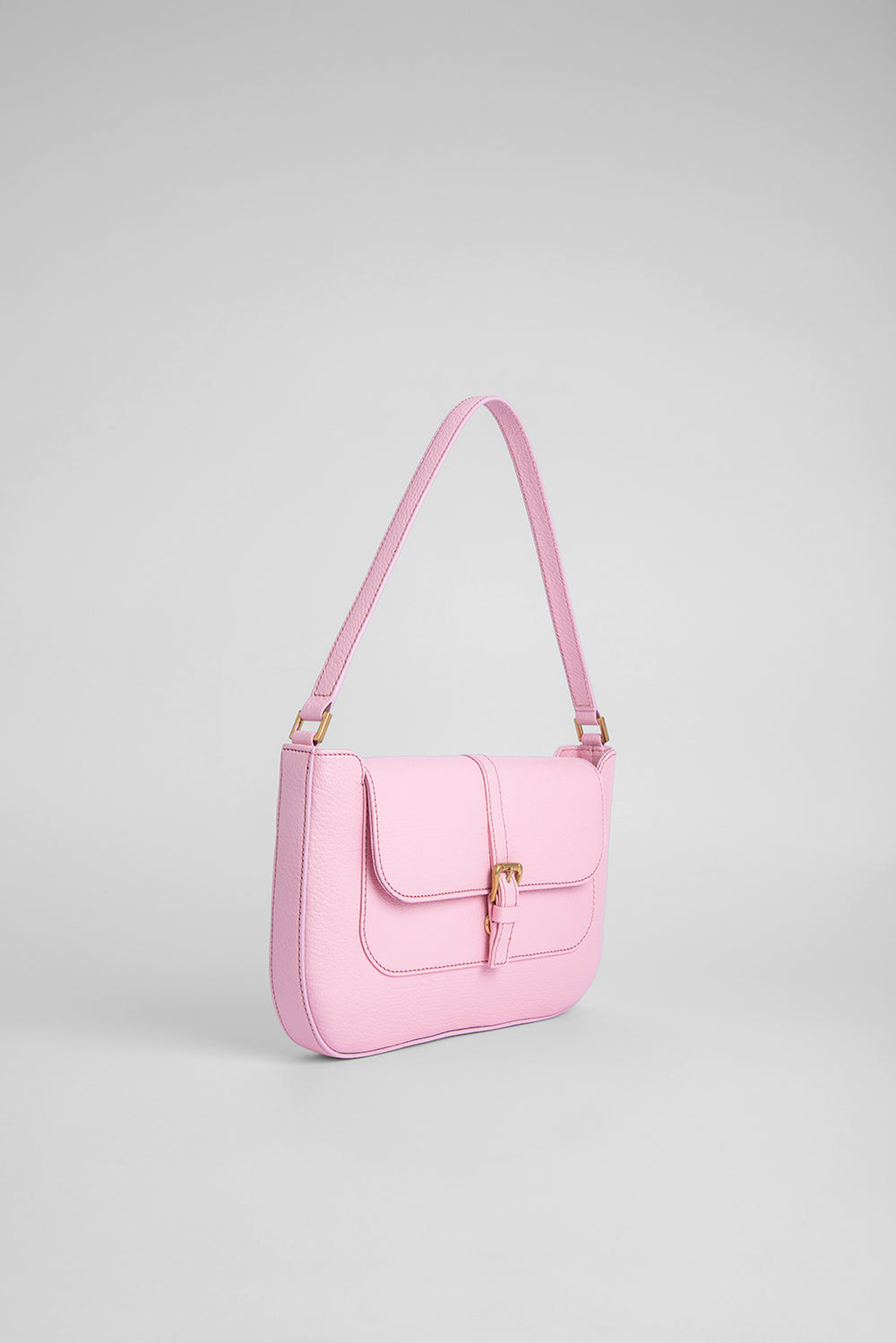 Miranda Peony Grained Leather