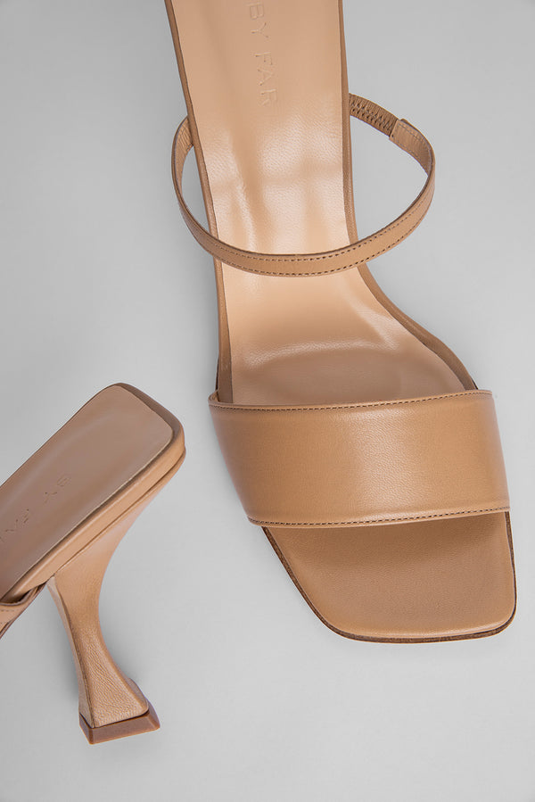 Nayla Nude Leather