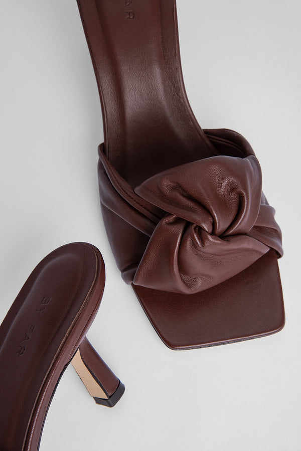 Lana Dark Brown Nappa Leather
