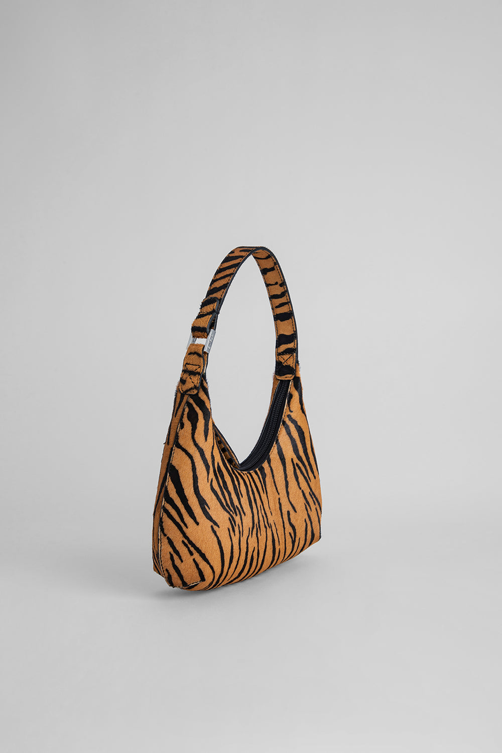 Baby Amber Tiger-Print Pony Hair Leather