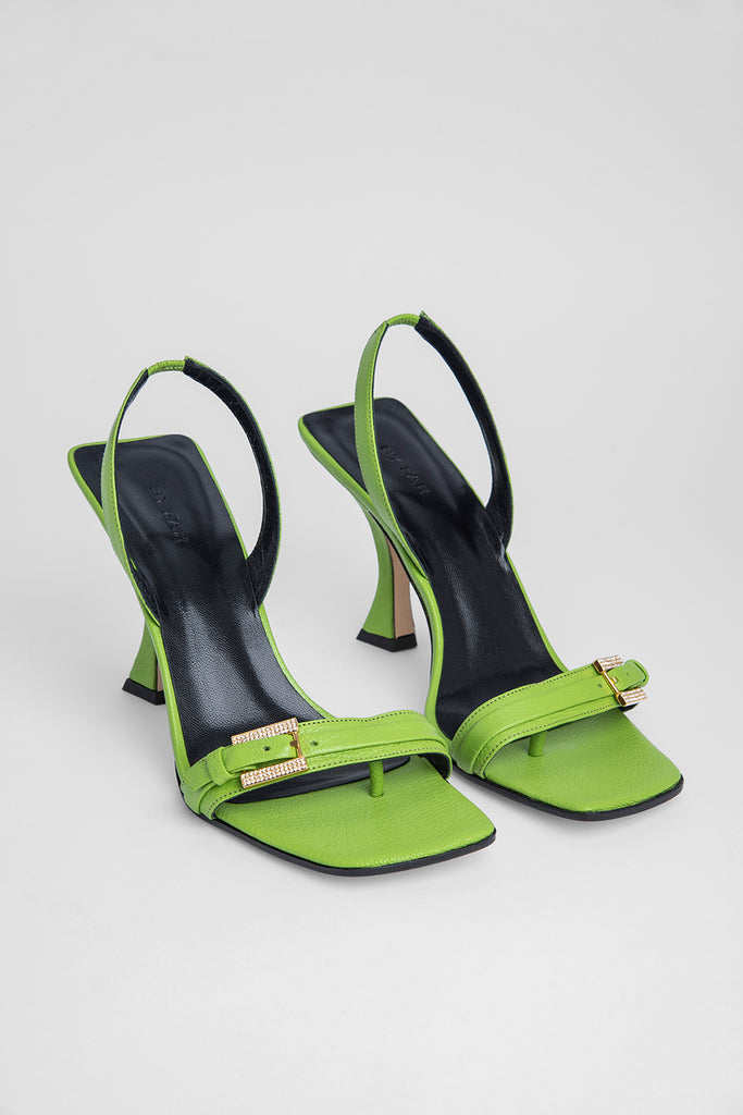 Carlotta Pistachio Grained Leather