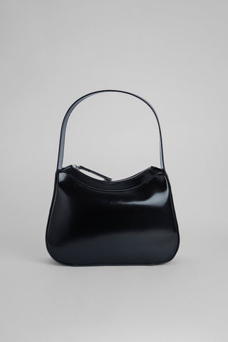 Kiki Black Semi Patent Leather