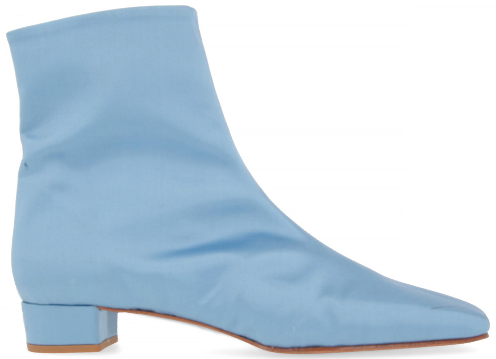 Este Boot Light Blue Silk