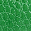 Mini Rachel Emerald Circular Croco Embossed Leather