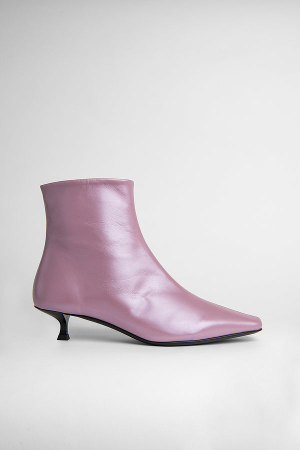 Laura Lilac Pearl Shine Leather