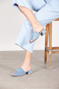 Scandi Light Blue Suede