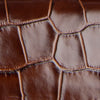 Mini Rachel Nutella Croco Embossed Leather