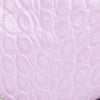 Mini Rachel Pink Croco Embossed Leather