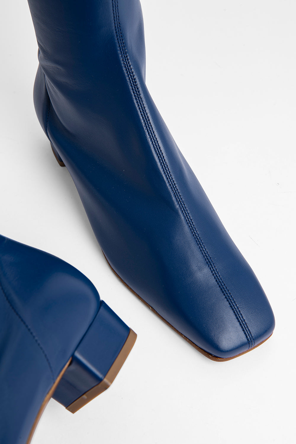 Edie Navy Leather