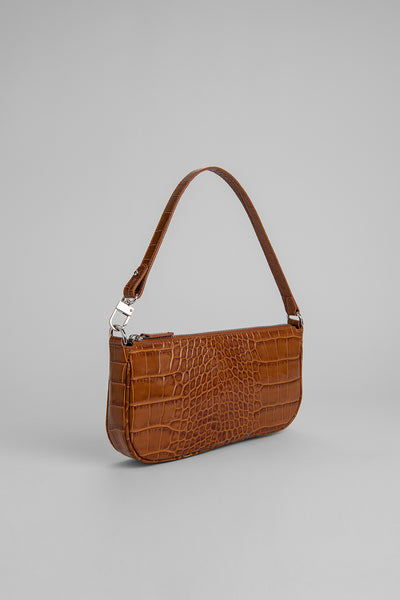 Rachel Tan Croco Embossed Leather