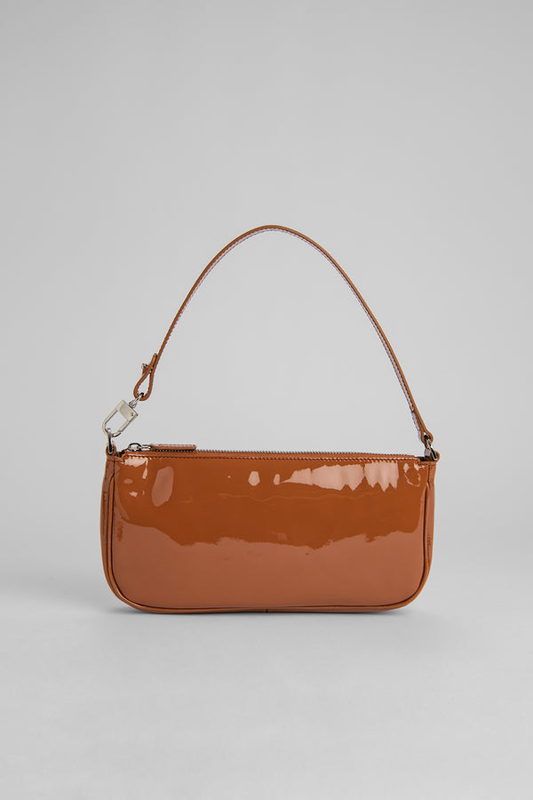 Rachel Caramel Patent Leather