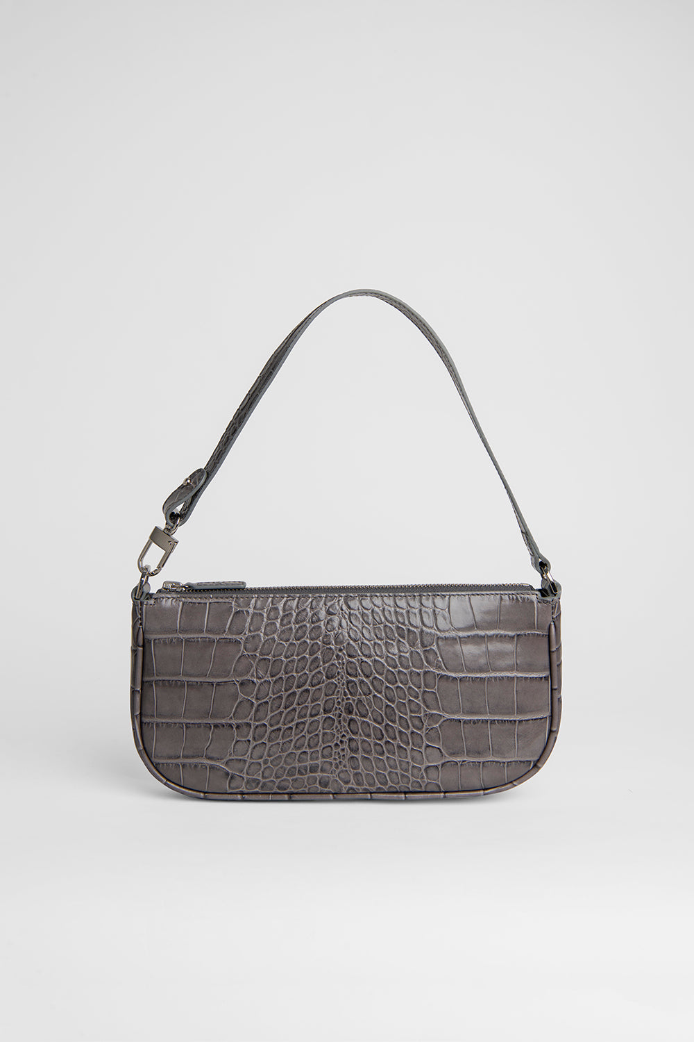 Rachel Grey Croco Embossed Leather