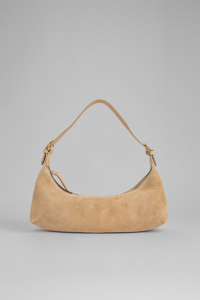 Mara Cream Suede Leather