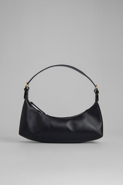 Mara Black Leather