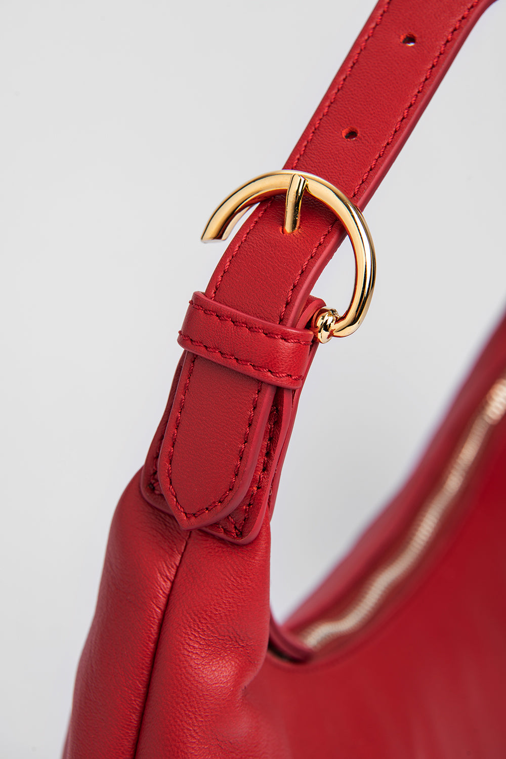 Mara Red Leather