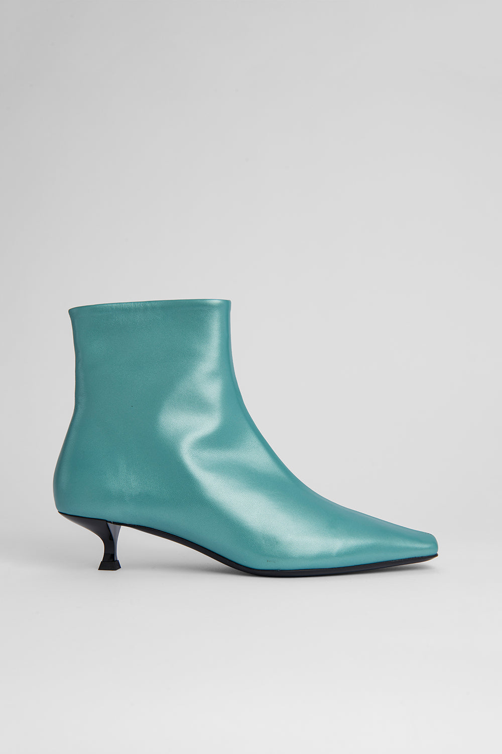 Laura Mint Pearl Shine Leather