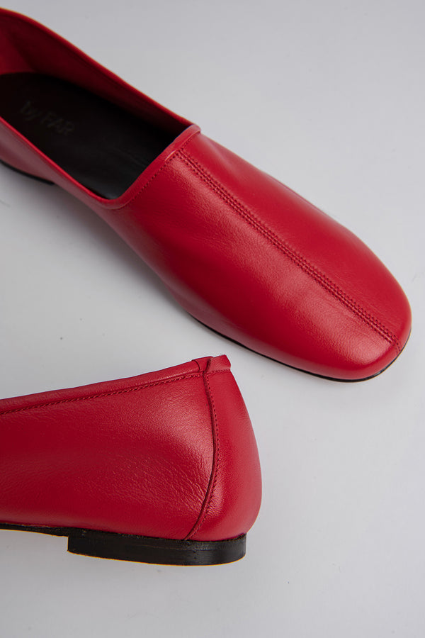 Petra Red Leather