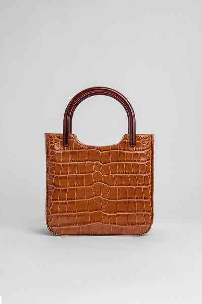 Eric Tan Croco Embossed Leather