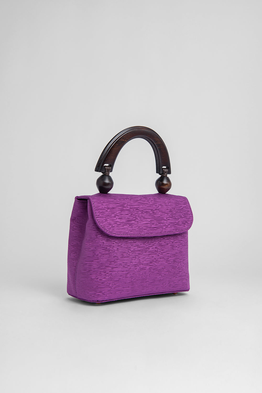 Mini Fiona Purple Plisse