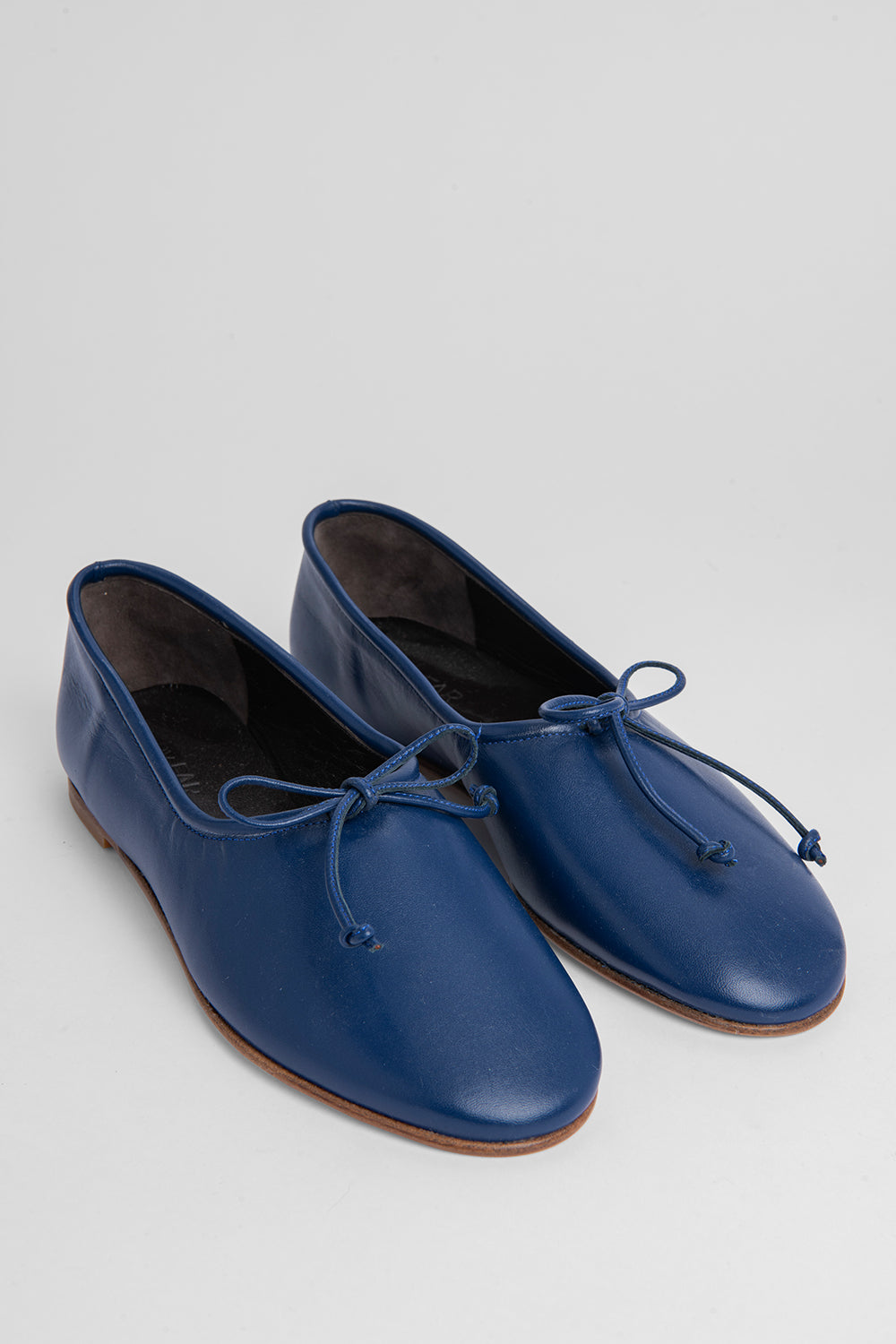 Agnes Navy Leather